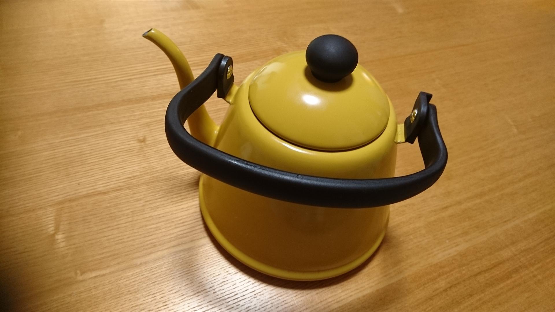 野田琺瑯 ドリップケトルII キャメル DK-200